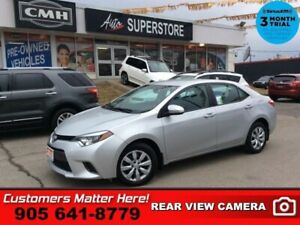 2016 Toyota Corolla LE  BACK-UP CAM HTD-SEATS BLUETOOTH