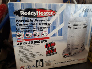 Portable Propane Convention Heater