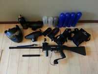 Tippmann A5 with extras and 1500 paintballs