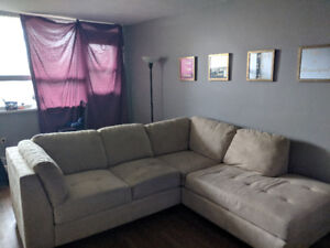 Large Sectional only 1 year old