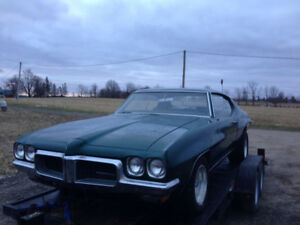 1970 Pontiac LeMans,  2 door Htp.
