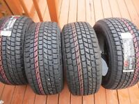 4X NEW NEW WINTER TIRES 255,55,18   (100%)
