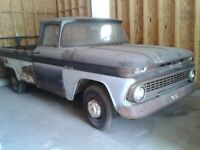 1963-62 3/4 ton chevy project