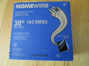 OUTDOOR ELECTRICAL WIRE 14/2 NMWU 98.4 FEET new in box