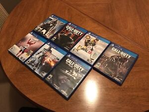 MINT PS4 games for sale.