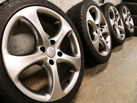 "17"" Elite racing alloy wheels 4x108 for Ford Fiesta Focus Peugeot"