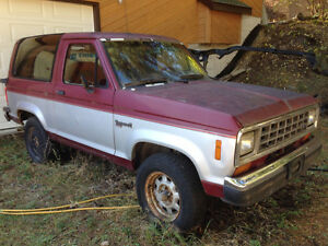 1988 Ford Bronco II - Project/Parts