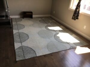 Rug (100% Wool, made in India)