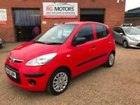 2010(60) Hyundai i10 1.2 ( 76bhp ) Classic, Red 5dr Hatch, **ANY PX WELCOME**