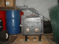 HEAVYDUTY  HOMEMADE WOOD HEATER. [ Reduced Again ]