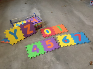 BIG Children's ABC/Numbers Floor Foam For Sale