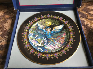 Set of 5 Villeroy and Boch Russian fairytale plates