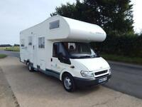 Chausson WELCOME 28, 2005, 6 Berth, U-Shaped Rear Lounge, 50k Miles, RWD, FSH!