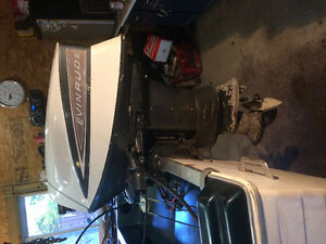Motor evinrude 40hp trade for other one whit longer feet
