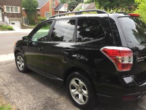 Subaru Forester 2015 - lease transfer-transfert de bail