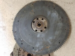 Ring gear and clutch for 1951 Ford f1.