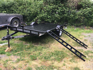 ATV / UTILITY / UTV / FLAT DECK / MOTORCYCLE TRAILER