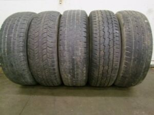 5-245/70R17 M+S ALL SEASON TIRES CAN SELL IN PAIRS OR SINGLES