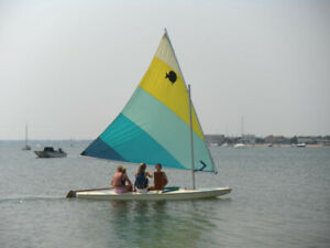 Looking for a Used  Sun Fish Mast and sail