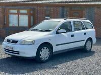 Vauxhall Astra 1.7 DTi 16V LS 5dr [AC] DIESEL MANUAL 2003/03