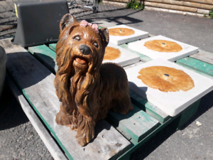 Concrete Dog Statues and More