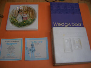 SET OF 4 WEDGWOOD COLLECTOR PLATES RIDING HIGH, OUR GARDEN PLUS London Ontario image 4