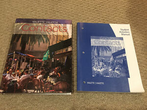Contacts Textbook - w/ Study Guide & CD's