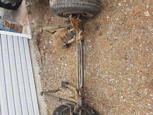 Front drivetrain for 1936 to1940 Chev car