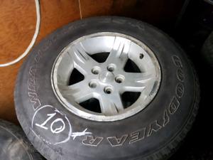 Mag jeep wrangler sahara 2004 avec pneus