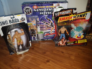 WWE figures, repacked jakks pacific,ruthless aggression era
