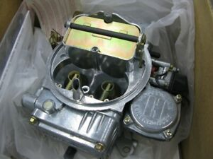 New Holley 600cfm carb