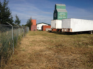 1/2 acre of land for rent in Spruce Grove