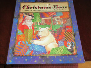 The Christmas (Polar) Bear - Stickland. 1st Ed. HC/DJ Gorgeous
