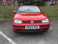 Volkswagen Golf 1.4 2003MY Match