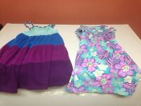 Girls dresses and dance wear,sizes 6x,7-8!!