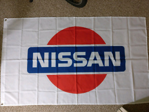 JDM style Nissan wall banner/flag