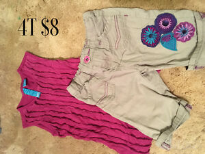 Girls 4T and 5T clothing