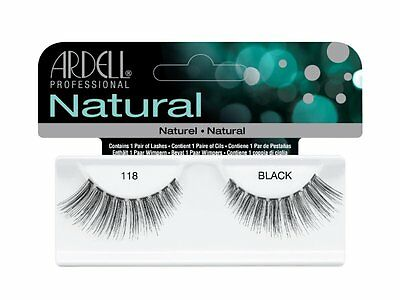 40 Pairs Ardell Natural 118 Fashion Lash Fake Eyelashes Black