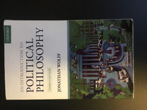 An Introduction POLITICAL PHILOSOPHY 3RD EDITION JONATHAN WOLFF