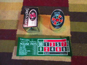1978 EXEC-U-PLAY IMAGINAMICS ELECTRONIC ROULETTE GAME COMPLETE