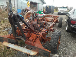 1947 Power Wagon frame and complete drive line