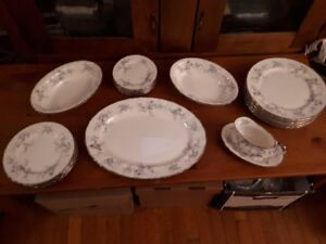 Paragon China set for 6 + serving dishes + xtras 'Bride's Choice