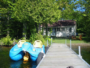Waterfront cottage for rent - Upper Rideau Lake