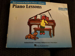 Piano Lessons-Book 1 Hal Leonard Student Piano Library Textbook