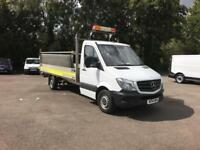 Mercedes-Benz Sprinter 313 lwb Dropside 3.5T ( with Tail Lift) EURO 5 (2014)