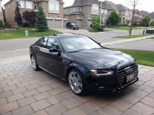 2014 Audi A4 Progressiv Sedan S Line 6 Speed Manual