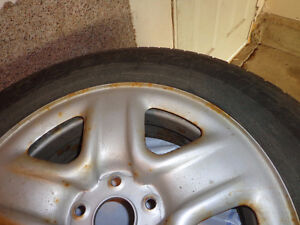 225/65R17 101H TOYO A20 OPEN COUNRTY ALL SEASON WITH RIM Edmonton Edmonton Area image 2