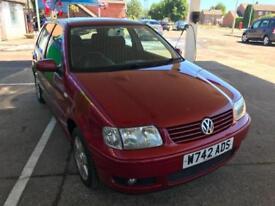 2000 Volkswagen Polo 1.4 ( 60bhp ) SE Full Mot 06/2019 - 11 Service stamps