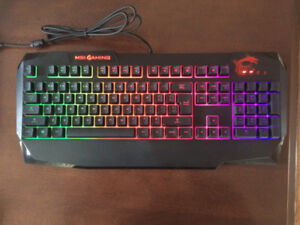 clavier keyboard msi gaming