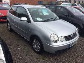 VOKSWAGEN POLO TWIST 1.2 54 REG MOT FOR 1 YEAR EXCELLENT CONDITION LOW MILEAGE